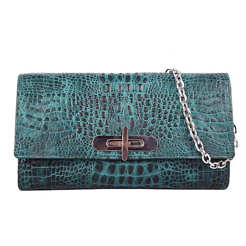 Chain Green croco