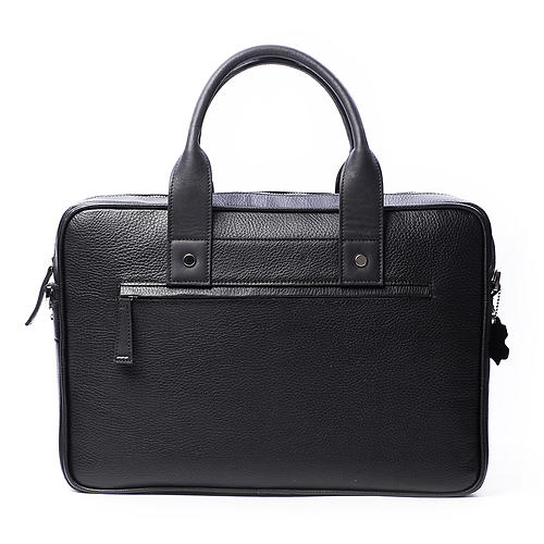 Laptop Briefcase for MacBook Pro 15 inches Forint Classic Black Bag